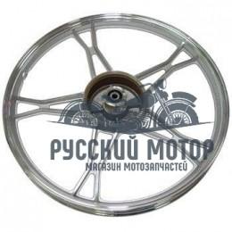 Диск колеса 17' мопед задний, литой, барабанный тормоз