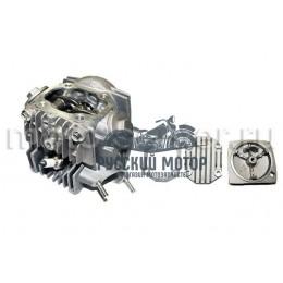 Головка цилиндра 139FMB d-50 мм 100сс в сборе (клапана, рокера, распредвал, крышки)