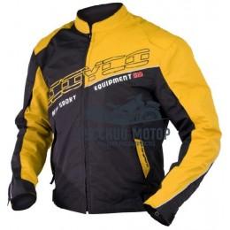 Куртка мотоциклетная JK31 желтая (XL) Scoyco