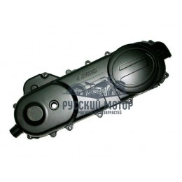 Крышка вариатора 4Т длинная (под колесо 13'-14') 139QMB 50cc черная