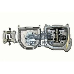 Головка цилиндра 139QMB d-47мм 70сс в сборе (клапана, рокера, распредвал, крышка клапанов)