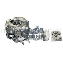 Головка цилиндра 139FMB d-52.4 мм 110сс в сборе (клапана, рокера, распредвал, крышки)