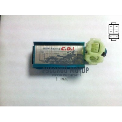 Коммутатор (CDI) GY6 50сс NEW Racing тюнинг