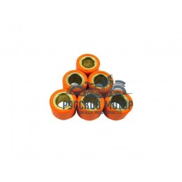 Ролики вариатора (комплект 6 штук) 16*12 8 грамм Suzuki AD 50