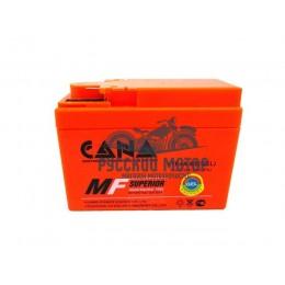 Аккумулятор CANA гелевый 12v/2.3hr YTR4A-BS - orange (50EN, Gel) 20 (Honda - 'широкая')