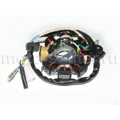 Статор генератора 139QMB 50cc 8 катушек (1 индукционная катушка)