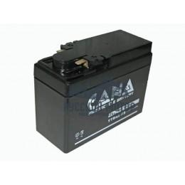 Аккумулятор CANA 12v/2,5hr YTR4A-BS (30EN, VRLA) 20 (Honda - 'широкая')