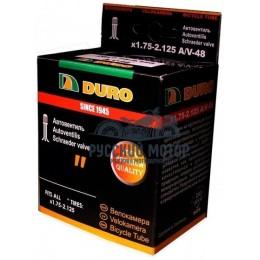 Камера вело DURO 14*1.75 A/V