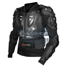 Куртка защитная (черепаха) AM02 черная (L) Scoyco без логотипа