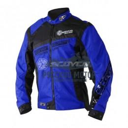 Куртка мотоциклетная JK28 синяя (L) Scoyco