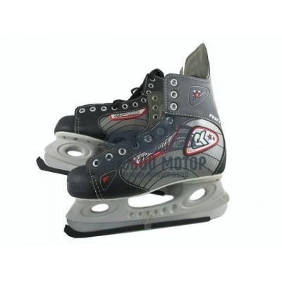Коньки хоккейные Profy LUX 5000 40 размер 11148