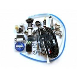 Инжектор для двигателя 157QMJ d-28 мм впускной закрытый тип (комплект для установки)