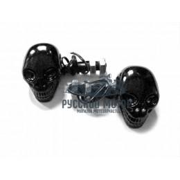 Указатель поворота светодиодный 'Череп' (2 штуки в комплекте)