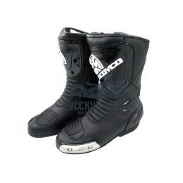 Ботинки мотоциклетные MBT004 45 размер черные Scoyco