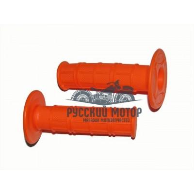 Ручки руля (оранжевые)