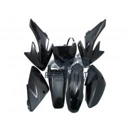 Комплект пластика для питбайка CRF70 (черный)