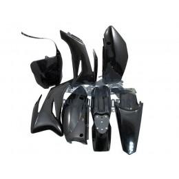 Комплект пластика для питбайка TTR (черный)