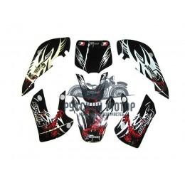 Комплект наклеек на кроссовый мотоцикл KIX SCORPION