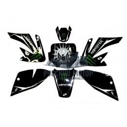Комплект наклеек на кроссовый мотоцикл CRF70 Monster 2