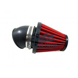 Фильтр воздушный нулевого сопротивления угол 45 градусов d-45мм без крышки RAD