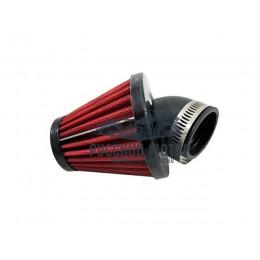 Фильтр воздушный нулевого сопротивления угол 45 градусов d-38мм без крышки