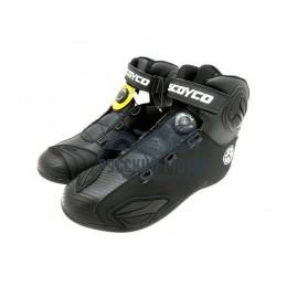 Ботинки мотоциклетные MBT010 43 размер черные Scoyco