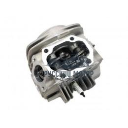 Головка цилиндра в сборе YX140 (клапана d-23/d-27, рокера, распредвал)