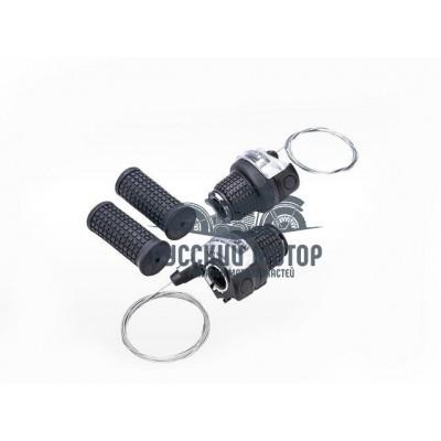 Комплект ручек перекл.скор.Index (ревошифт)3*7 аналог Shimano EF41, черные, завод Sshine 3132666-17
