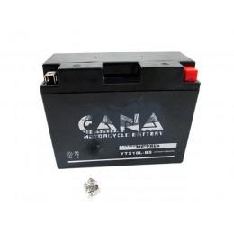 Аккумулятор CANA 12v/20hr YTX18L-BS (260EN, VRLA, 205*90*159, 7,2кг, -) 4
