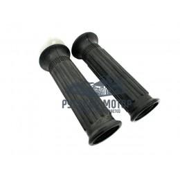 Ручки руля CG черные (ручка газа + левая)