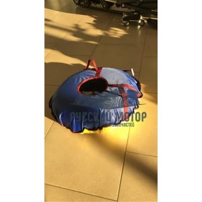 Санки-ватрушки Стандарт 80 (дно - тент 550гр./м.кв, верх - ткань цветная 600гр./м.кв)