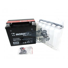 Аккумулятор Moratti YTX20L-BS (12v/18hr сухозаряженный с электролитом) MEP 12x20