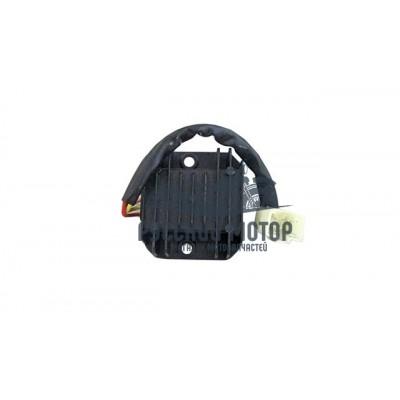Реле регулятор напряжения 152QMI, 157QMJ 125/150cс (1 штекер широкий 'папа' 4 контакта)