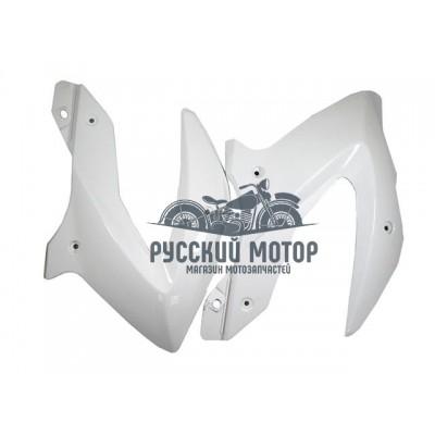 Пластик боковой передний (пара) TTR250-2 белый