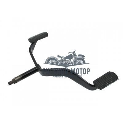 Педаль ножного переключения КПП крашенная 62-04029-11