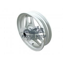 Диск колеса 10' Honda Dio передний, штампованный, дисковый тормоз