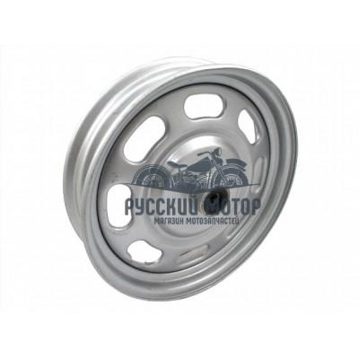 Диск колеса передний 2.15-10 125сс стальной барабанный тормоз