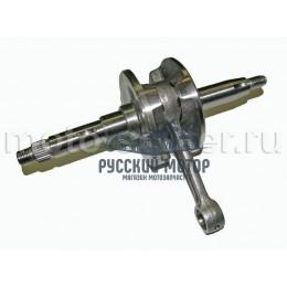 Коленвал 1P41QMB BM, Geely,Suzuki RUN, TB-50 цепной привод