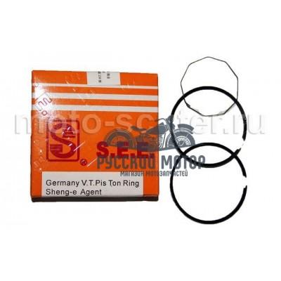 Кольца поршневые SEE 139QMB 60cc d-44 +0.50