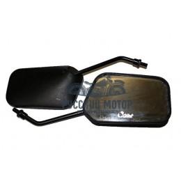 Зеркала заднего вида №34 пластик черное стойка М8 AX100