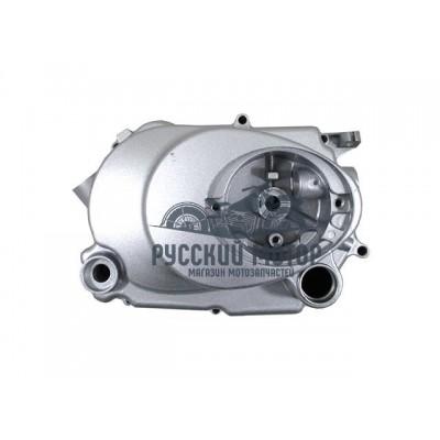 Крышка картера двигателя правая Dingo50 механика, с маслозаливной горловиной с торца
