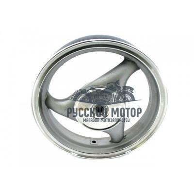 Диск колеса 12' задний, литой, барабанный тормоз 2.50-12 50-80сс 19 шлицов колодки 110