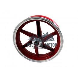 Диск колеса 10' Honda Dio передний, литой, дисковый тормоз красный