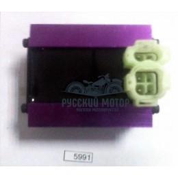 Коммутатор (CDI) GY6 50-150сс GH Motor тюнинг фишка сверху (4+2)