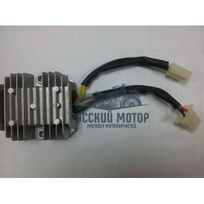 Реле регулятор напряжения 152QMI, 157QMJ 125/150cс 7 проводов 2 штекера (4+3 контакта)