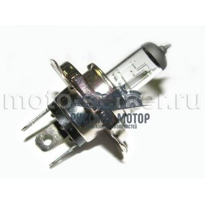 Лампа головного света галоген H4 P43T 35/35W прозрачная (блистер)