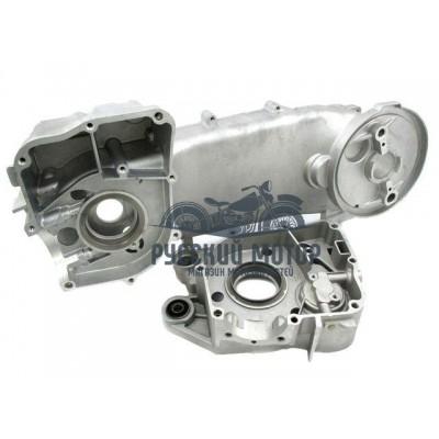 Картер двигателя 150сс 157QMJ левый и правый под 13' колесо
