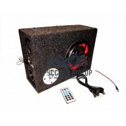 Аудиосистема для мототехники (сабвуфер, МР3, ПДУ) прямоугольная