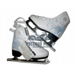Коньки женские фигурные LADIES velvet classic 34 размер 3946