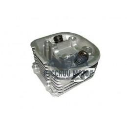 Головка цилиндра 158QMJ Stels, Keeway d-57.4мм 150cc (подшипник d-33мм) в сборе с клапанами